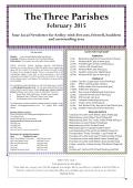 The Three Parishes February 2015 (pdf, 5.9MB)