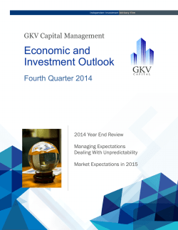 December 2014 Quarter Review