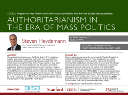 authoritarianism in the era of mass politics