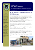 HOT OFF THE PRESS: January 2015 Edition of MCOE News