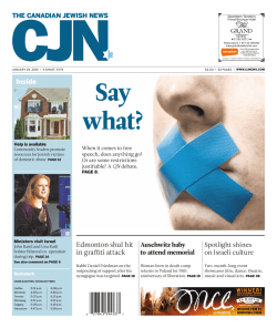 2015 - The Canadian Jewish News
