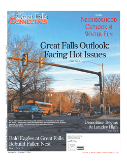 Great Falls Outlook: Facing Hot Issues