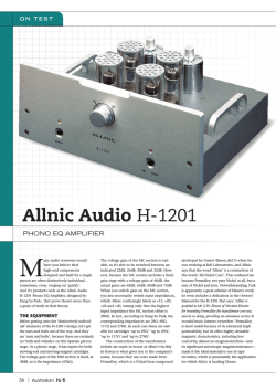 Allnic Audio H-1201