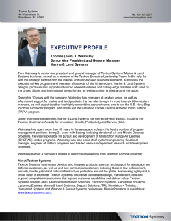 EXECUTIVE PROFILE