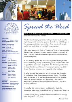 Our Newsletter - Our Lady of Graces Catholic Parish Carina