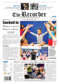 Socked in - The Recorder