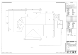 Measured Building Roof Plans