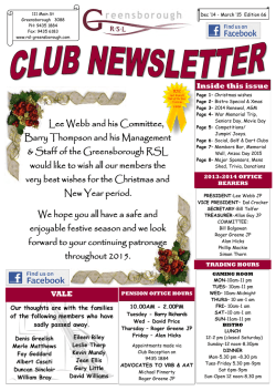 to download our latest newsletter
