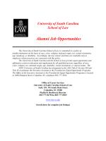 Alumni Job Opportunities Bulletin