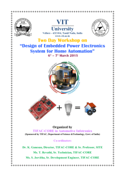 Design of Embedded Power Electronics System for
