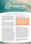 the orchard Newsletter