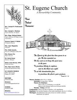 St. Eugene Church - John Patrick Publishing Company