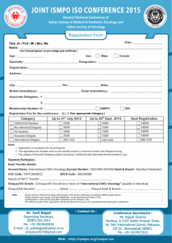 ISMPO ISO _Registration_Form2015