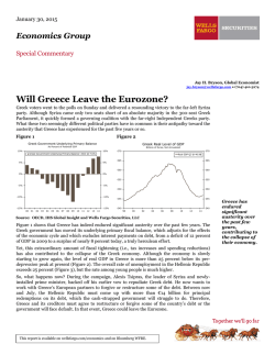 Will Greece Leave the Eurozone? (PDF)