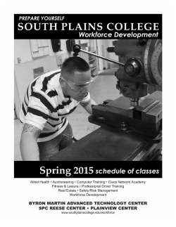Spring 2015 workforce schedule LR