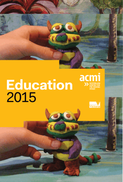 Download our Education Brochure 2015