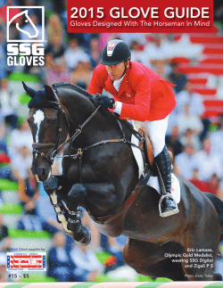 2013 SSG Catalogue - SSG Riding Gloves