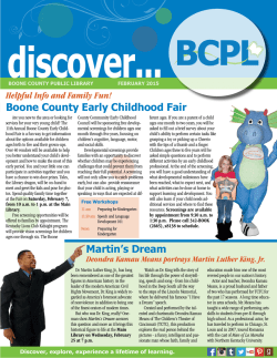 Discover BCPL - Boone County Public Library