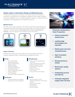 Automotive Datasheet January 23 2015