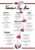 valentines day menu garden terrace 2015