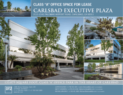 "class ""a"" office space for lease carlsbad executive plaza"