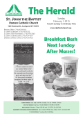 Bulletin - Saint John the Baptist Church