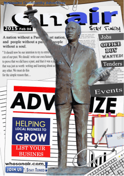 Botswana Community Advertizer 2015