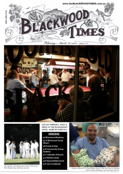 Download - The Blackwood Times