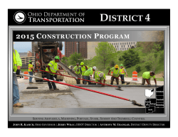 2015 district 4 construction program