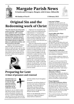 Margate Parish News - St Austin and St Gregory, Margate, with St