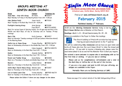 February Monthly - Sinfin Moor Church