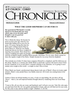 Weekly Chronicle - Concord Road Church of Christ