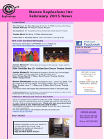 Latest Newsletter - Dance Explosions