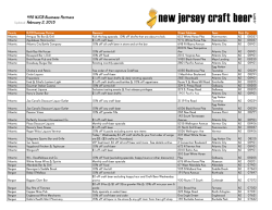Updated January 30, 2015 - - 497 NJCB Business Partners