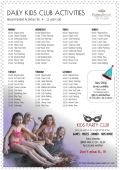 view daily kids activities schedule