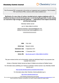 Provisional PDF - Chemistry Central Journal