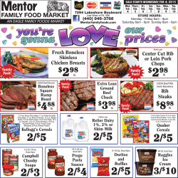 Weekly Ad - Mentor Family Foods