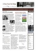 Read our Winter 2015 NEWSLETTER - Rolling Ridge   Retreat Center