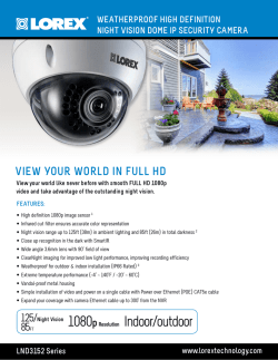 LND3152 Series IP Camera - English