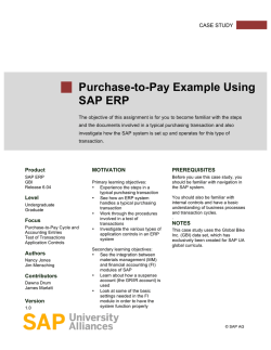 Procure to Pay Guide