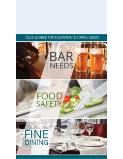 Download Entire Catalog - Hiawatha Chef, Bar and Janitorial Supply