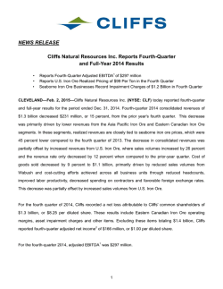 Download this Press Release (PDF 729 KB)