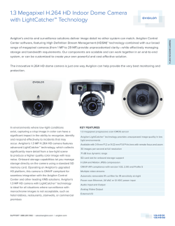Avigilon 1.3L-H3-D2 1.3 Megapixel H.264 HD Indoor Dome - Use-IP