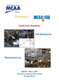 Presents… - the Mechanical Contractors Association of America!