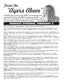 """Ayers Above"""