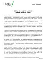 Press Release - novia