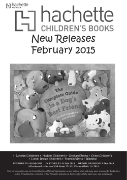 New Releases February 2015