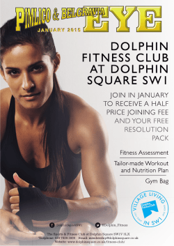 dolphin fitness club at dolphin square sw1