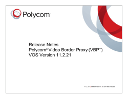 VBP VOS Version 11.2.21