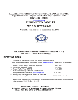 information booklet pre pg test 2014-15
